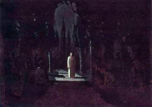 """""""Христос в саду Гефсиманском"""" - А.И. Куинджи"""