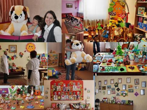 Лука и лучики (март 2015). Поездка в БУ ВО «Бутурлиновский детский дом-интернат для умственно отсталых детей»