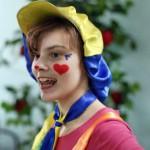 девочка-клоун