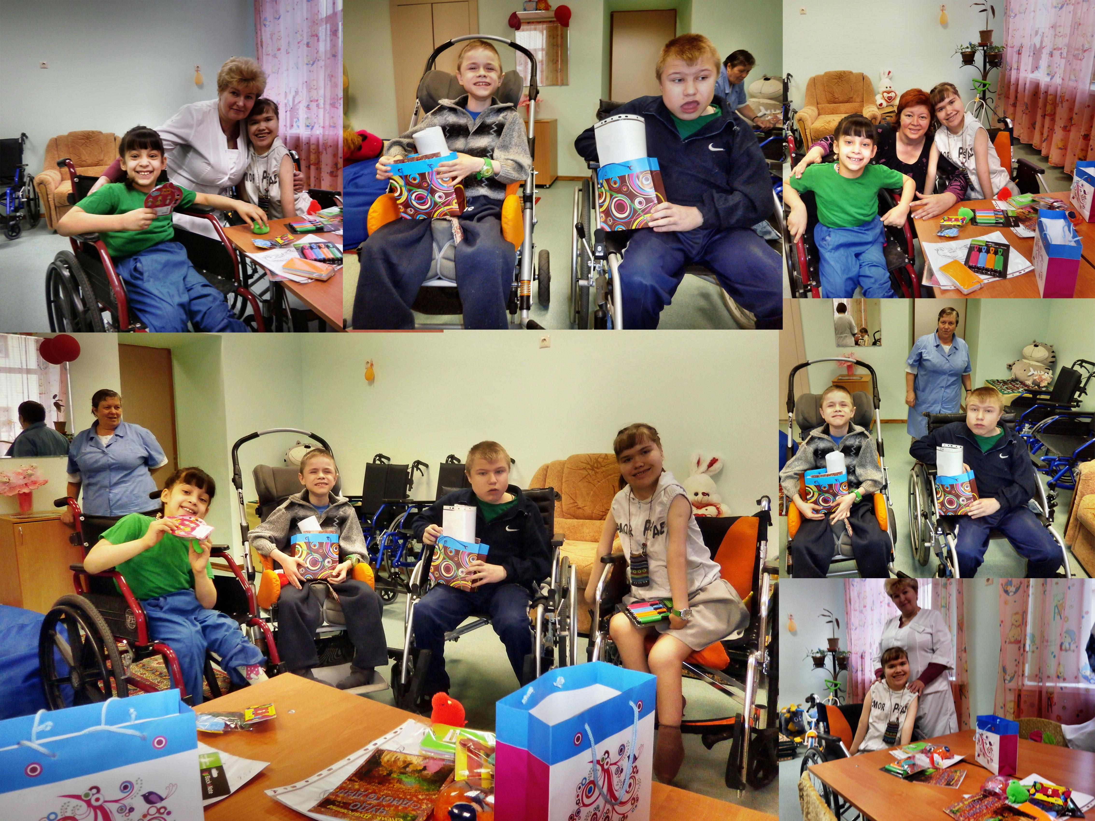 Лука и лучики. БУ ВО «Бутурлиновский детский дом-интернат для умственно отсталых детей»