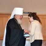 вручение аттестата - Выпускной в православной гимназии