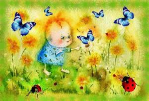 детский рисунок - психология толкования использования цветов - Елена Дубровина
