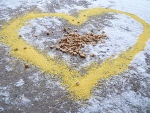 пшеничное сердце