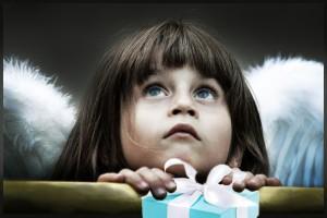 Подарок Ангелу_рассказ Елены Дубровиной_ребенок с крыльями_ангел_